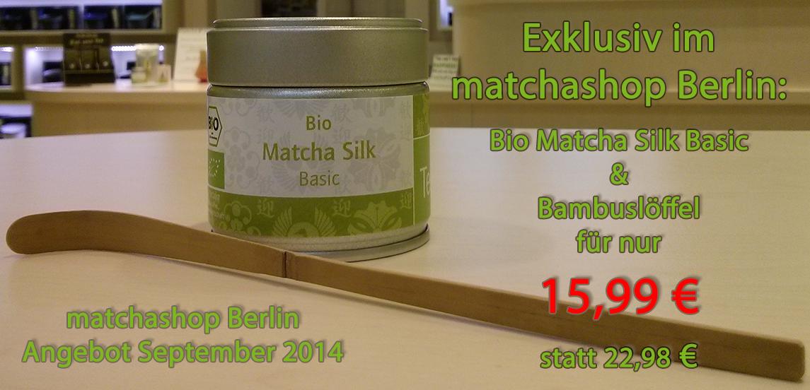 matchashop Berlin Angebot im September