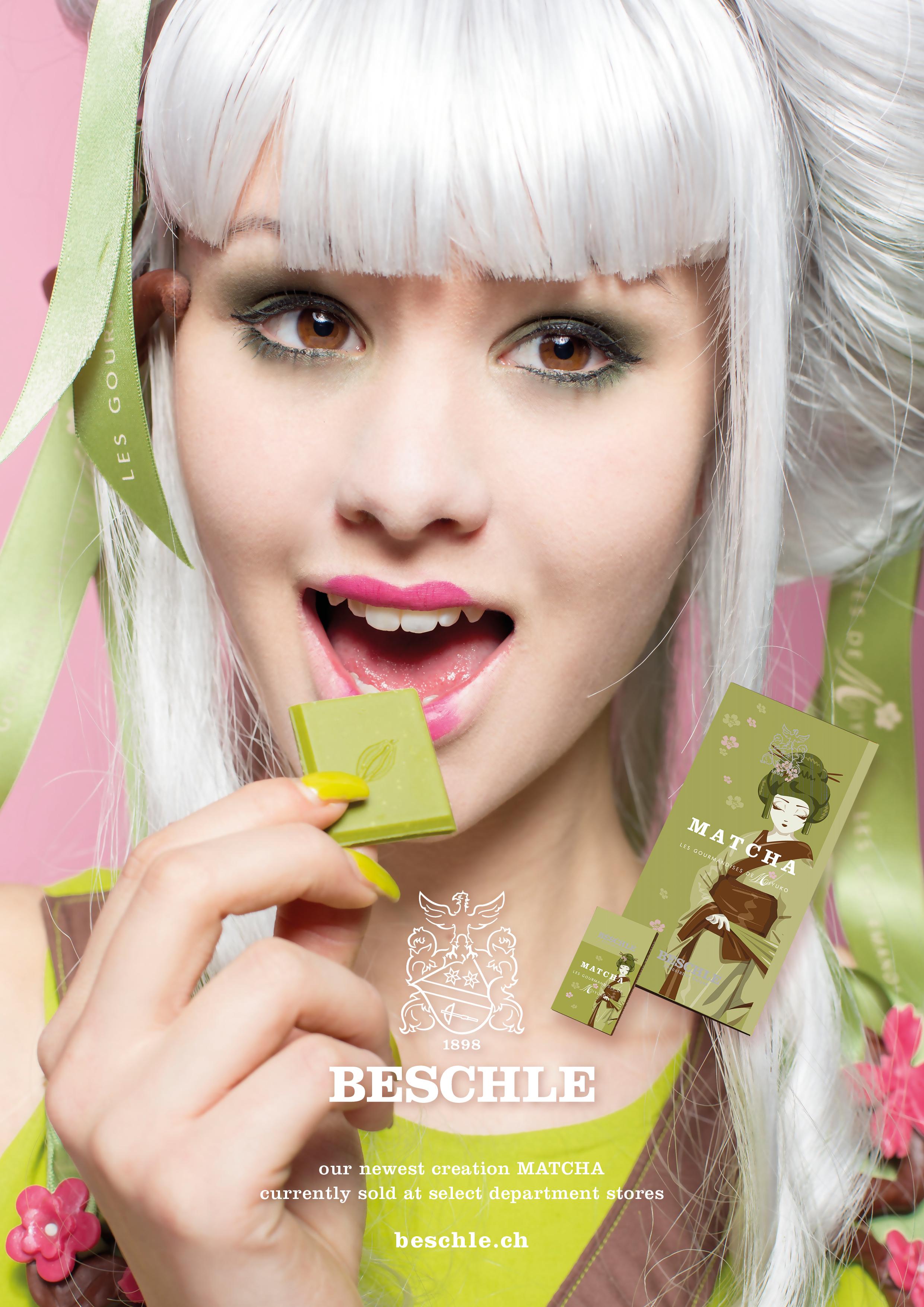 Matcha Schoko-Girl