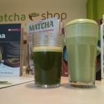 Japanischer Bio-Matcha pur und als Matcha Latte