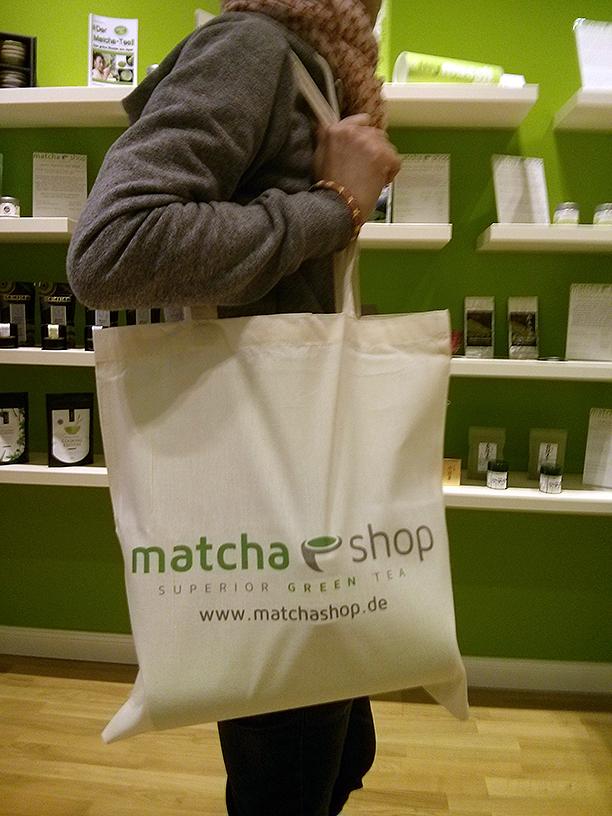 Premium-Stofftasche von matchashop