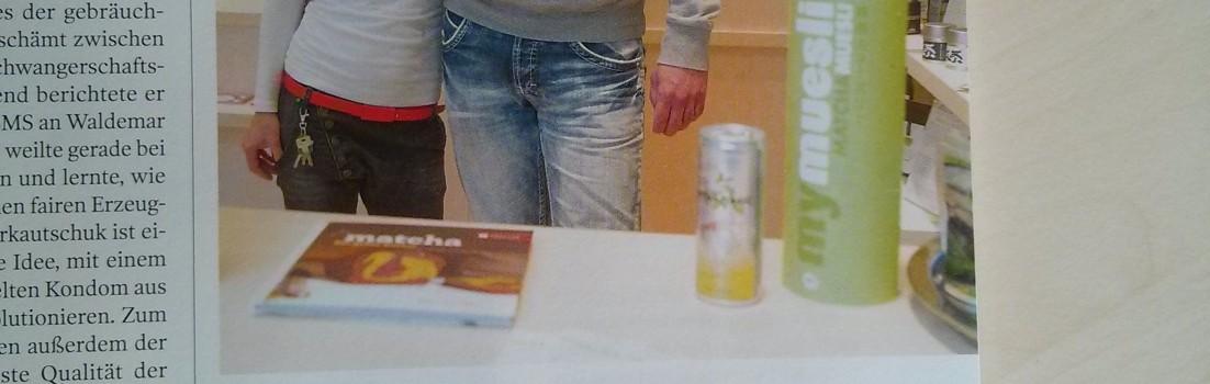 """Tagesspiegel Magazin """"Köpfe"""""""