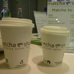 Matcha to go Becher sind kompostierbar
