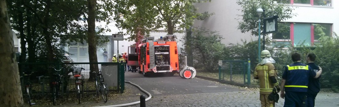 Großbrand im Nachbarhaus