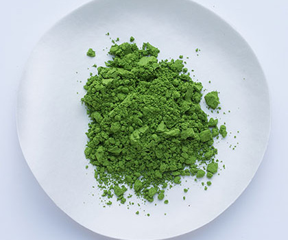 Matcha is really pure green positiviTEA