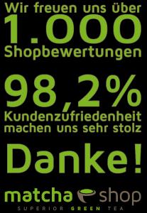1000 Shopbewertungen