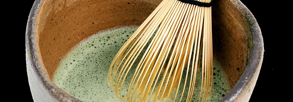 Herstellung eines Bambusbesens (Chasen)
