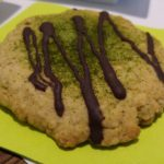 Matcha-Chocolate-Cookie (vegan)