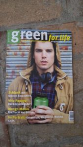Magazin Green for life