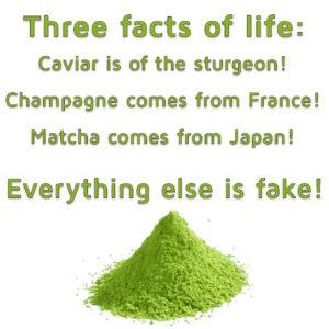 Three facts of life