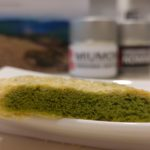 Matcha Blätterteiggebäck