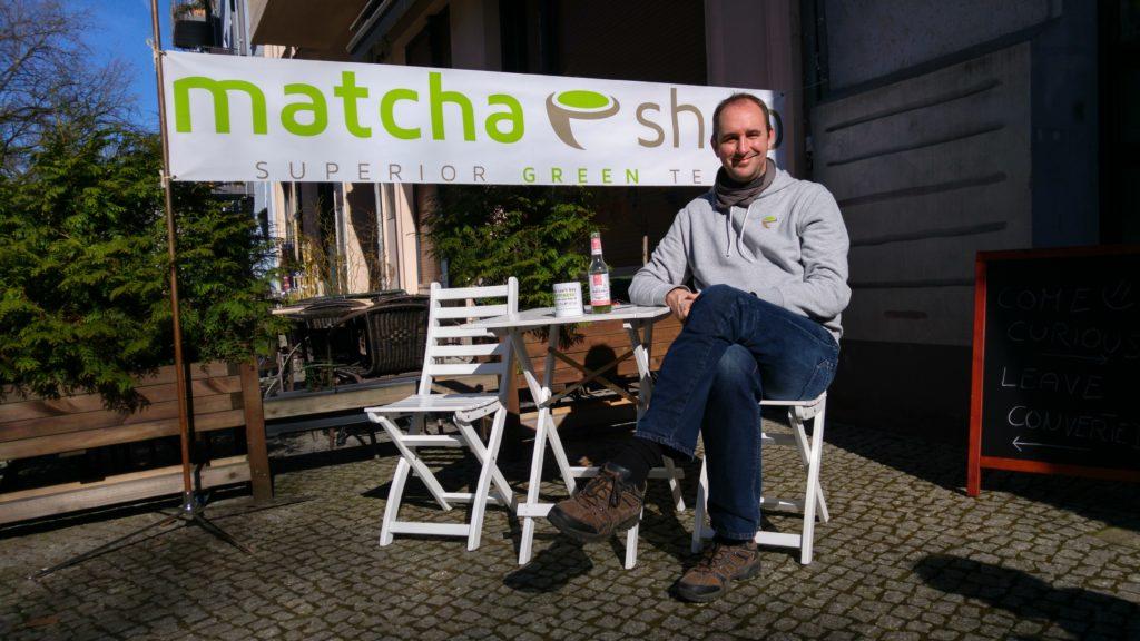 Frühling in Berlin - Matcha Limo genießen