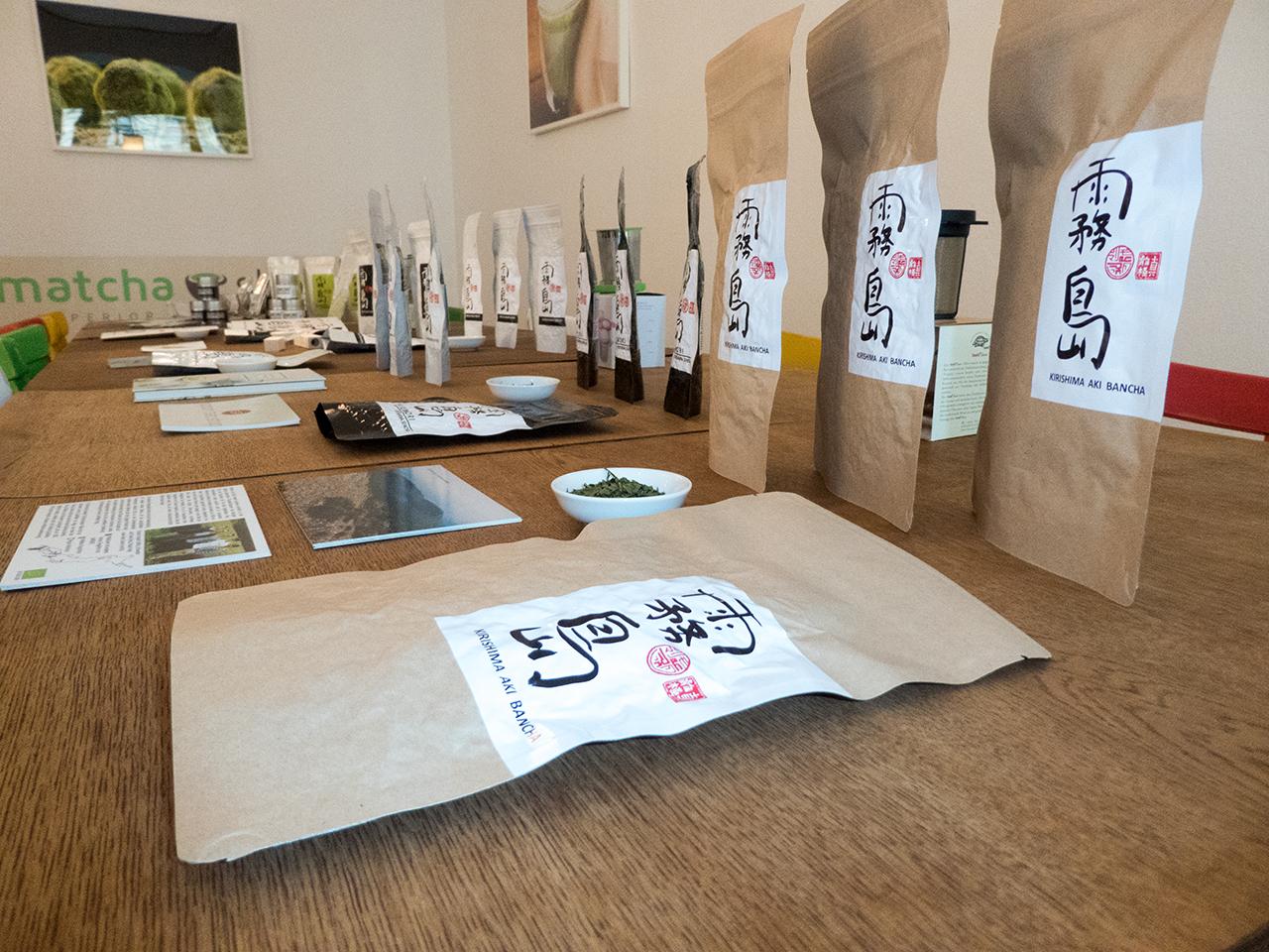 Shutaro Hayashi Matcha Teeveranstaltung