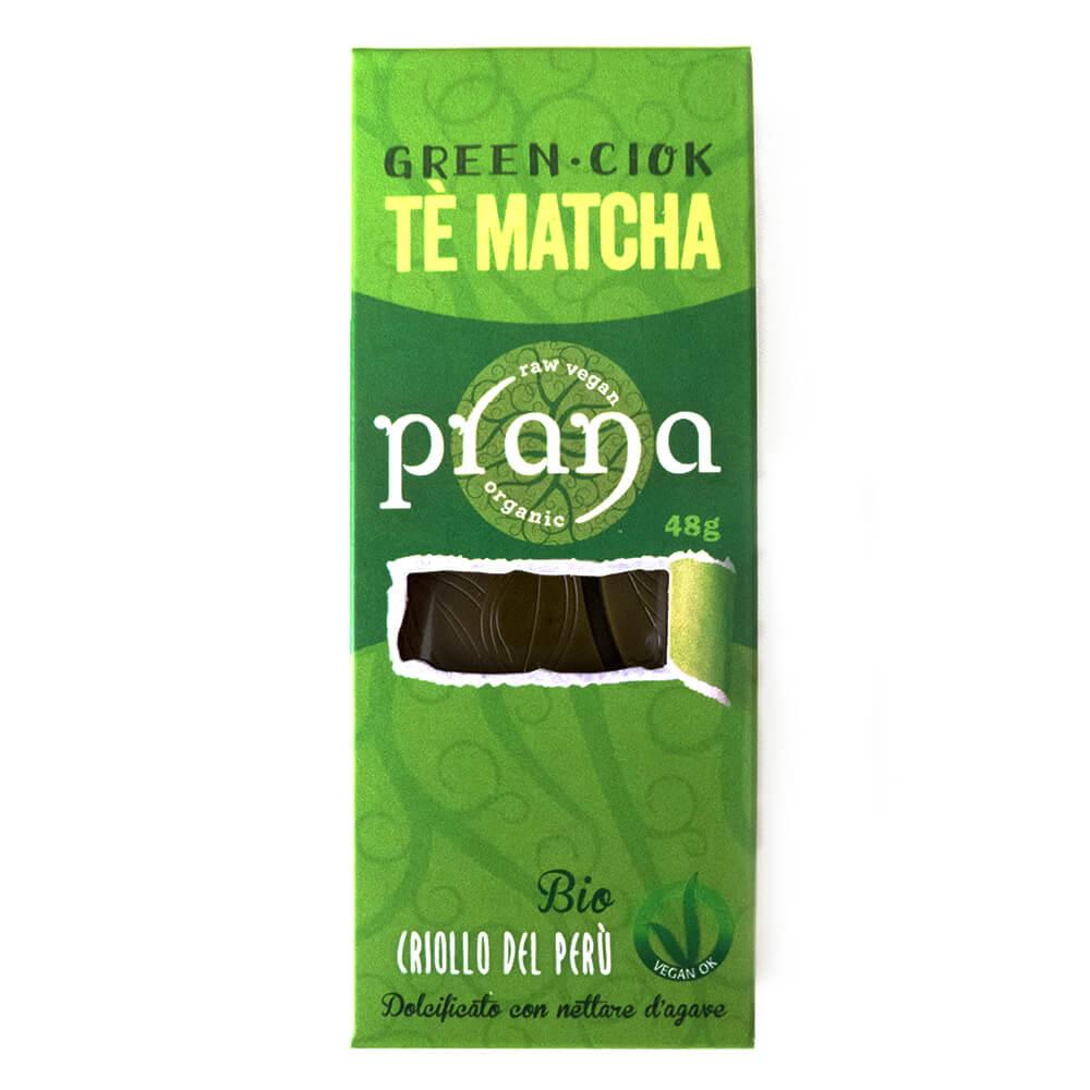 PRANA Green Ciok - Tè Matcha (bio, vegan)