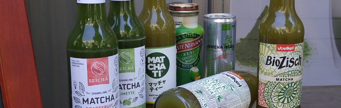 Eiskalte Matcha Limonade(n)