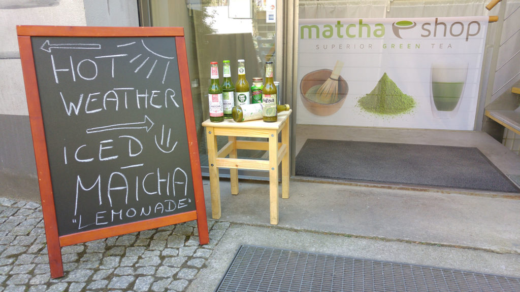 Eiskalte Matcha Limonade(n)!