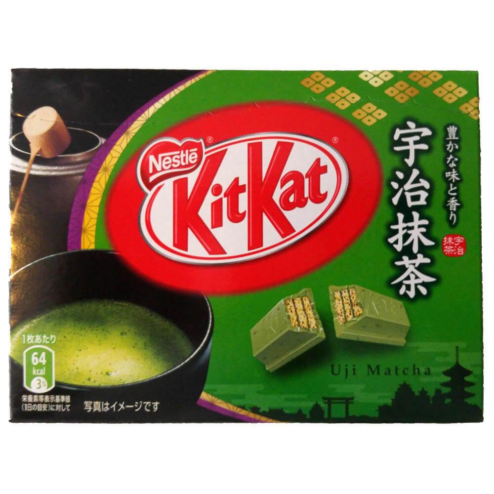 Wieder da: Matcha Mini-KitKat