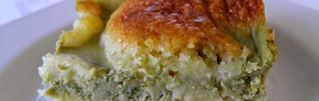 Matcha Cheesecake Blondies