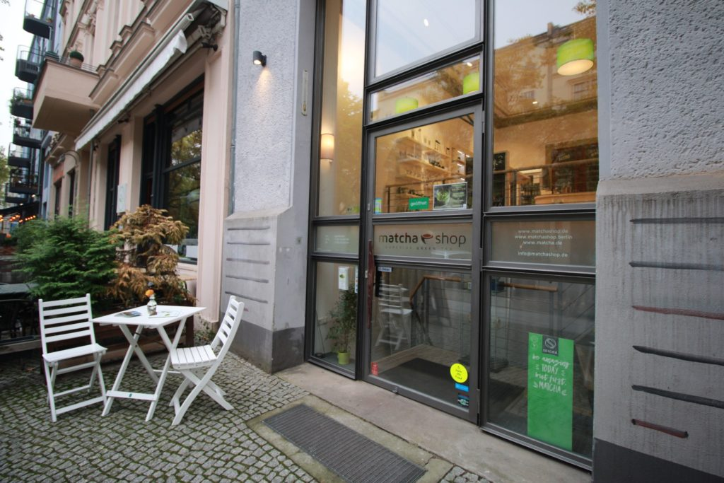 matchashop Berlin von außen (Bild: R. Lüchter)