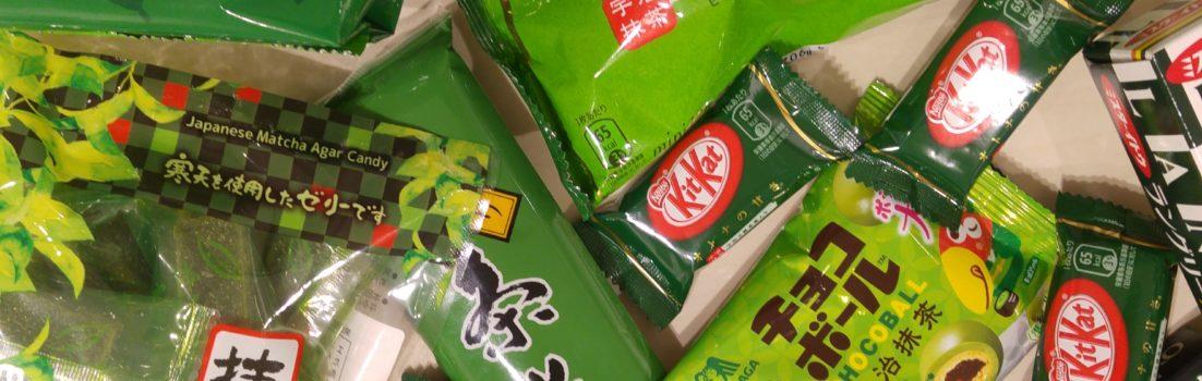 Japanische Matcha Süßigkeiten wieder vorrätig