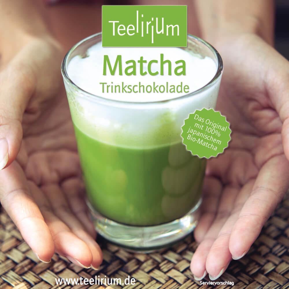 Bio Matcha Trinkschokolade
